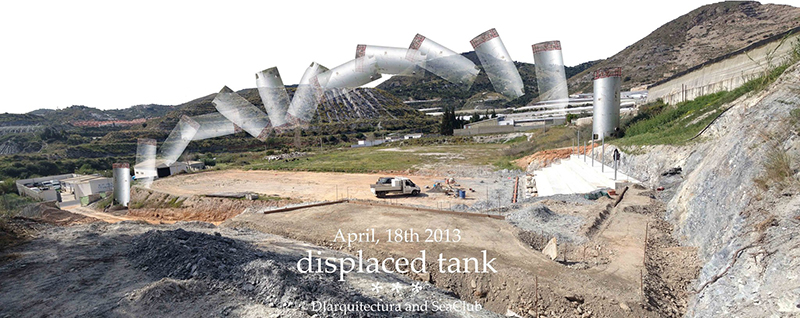 displaced tank 1